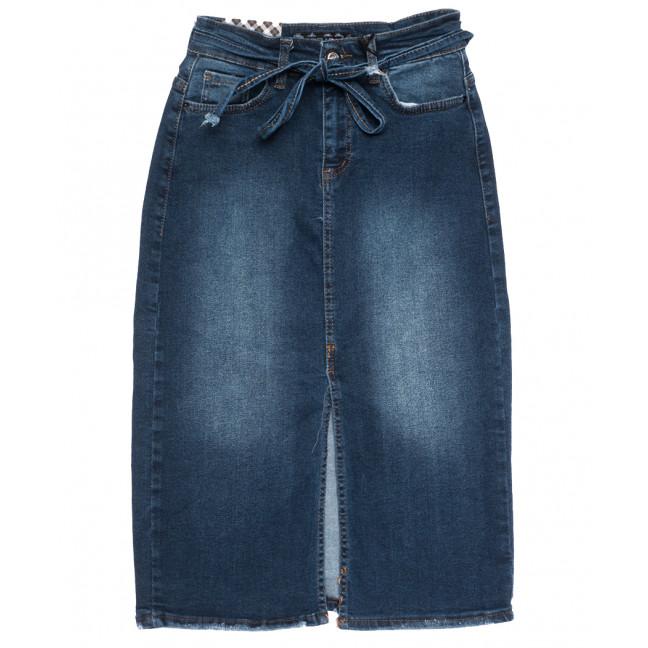 0700 Redmoon юбка джинсовая синяя осенняя стрейчевая (25-30, 6 ед.) REDMOON: артикул 1113998