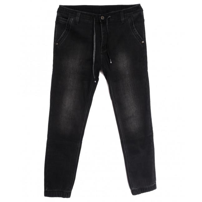 1590 Bagrbo джинсы мужские молодежные на резинке на флисе серые зимние стрейчевые (28-36, 8 ед.) Bagrbo: артикул 1114892