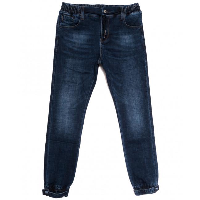 0906 Virsacc джинсы мужские молодежные на резинке синие осенние стрейчевые (28-34, 8 ед.) Virsacc: артикул 1113309