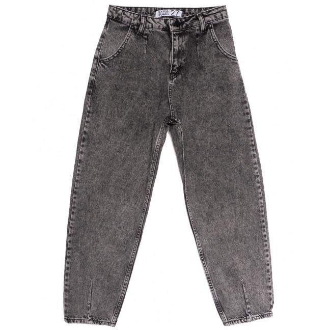 3820 Sasha джинсы-баллон серые осенние коттоновые (26-31, 8 ед.) Sasha: артикул 1114694