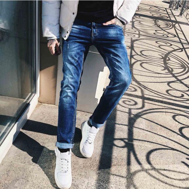 8005-02 Resalsa джинсы мужские молодежные с царапками осенние стрейчевые (27-2,29 3 ед.) Resalsa: артикул 1114644
