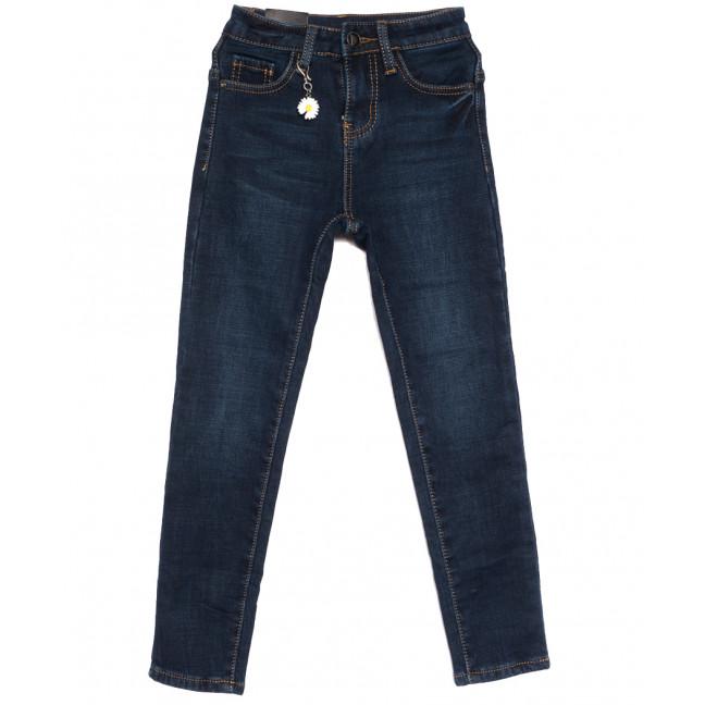 0603 Little Star джинсы на девочку на флисе синие зимние стрейчевые (20-25, 6 ед.) Little Star: артикул 1113836