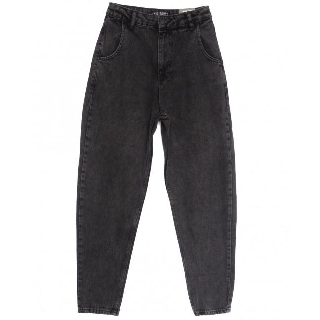 1666-4 Fume Its Basic джинсы-баллон серые осенние коттоновые (34-42,евро, 6 ед.) Its Basic: артикул 1114326