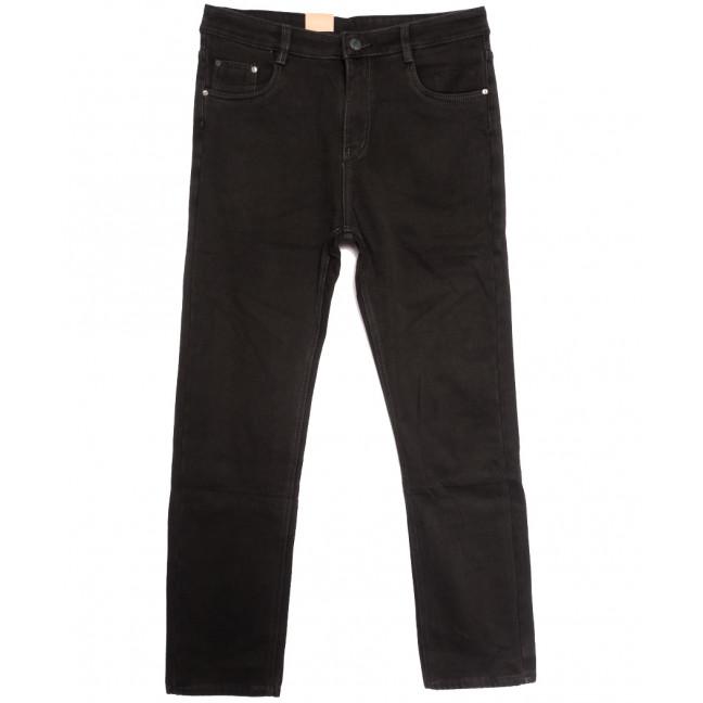 87605 джинсы мужские полубатальные на флисе серые зимние стрейчевые (32-40, 8 ед.) Джинсы: артикул 1114889