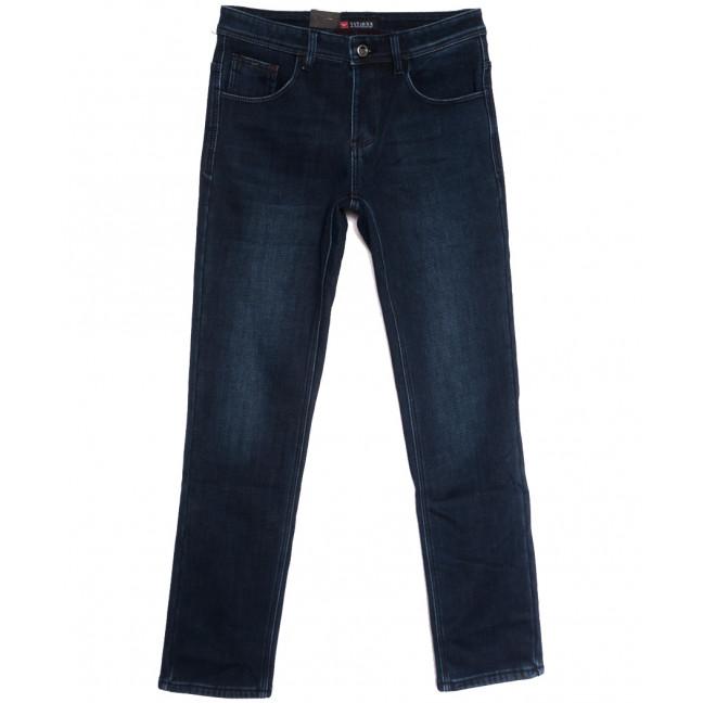 5116 Vitions джинсы мужские на флисе синие зимние стрейчевые (29-38, 8 ед.) Vitions: артикул 1114582