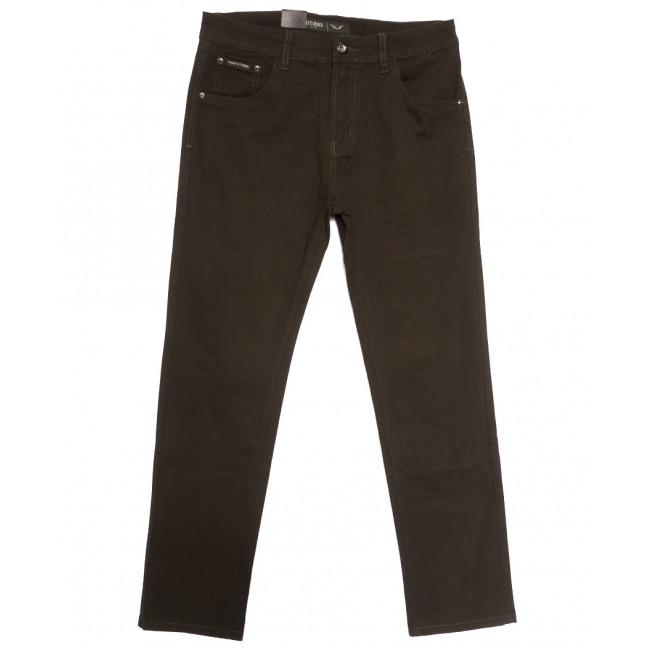 7049 Vitions джинсы мужские коричневые осенние стрейчевые (30-40, 8 ед.) Vitions: артикул 1113624