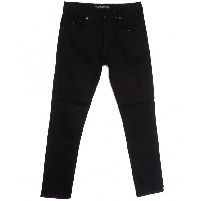 1806 Oldtime джинсы мужские черные осенние стрейчевые (29-38, 8 ед.) OLDTIME: артикул 1113730