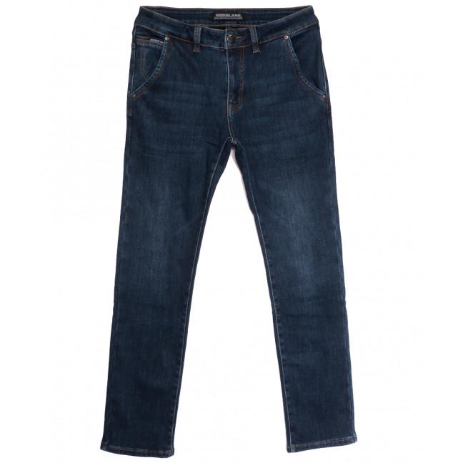 30777 Reigouse джинсы мужские на флисе синие зимние стрейчевые (30-38, 8 ед.) REIGOUSE: артикул 1114690