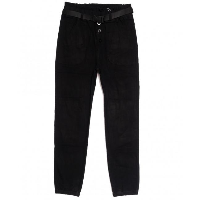 0713 (713L) черные Forest Jeans джоггеры женские осенние стрейчевые (25-30, 6 ед.) Forest Jeans: артикул 1113244