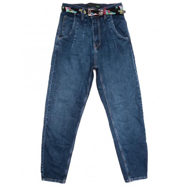 0926 Sherocco джинсы-баллон синие осенние коттоновые (24-27, 6 ед.) SheRocco: артикул 1114431