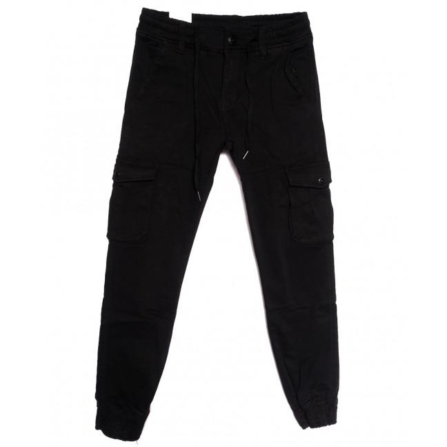 8385 Reman брюки карго мужские на флисе черные зимние стрейчевые (29-38, 8 ед.) Reman: артикул 1115058