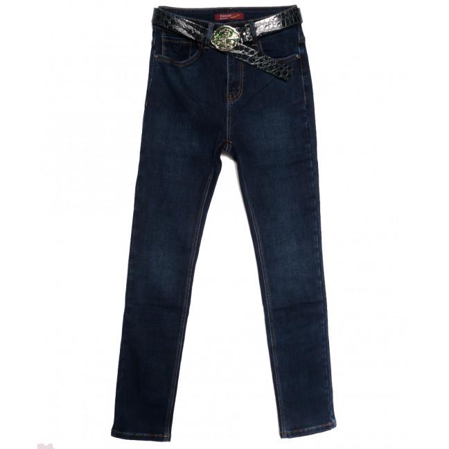 8561 Vanver джинсы женские полубатальные на флисе синие зимние стрейчевые (28-33, 6 ед.) Vanver: артикул 1114770