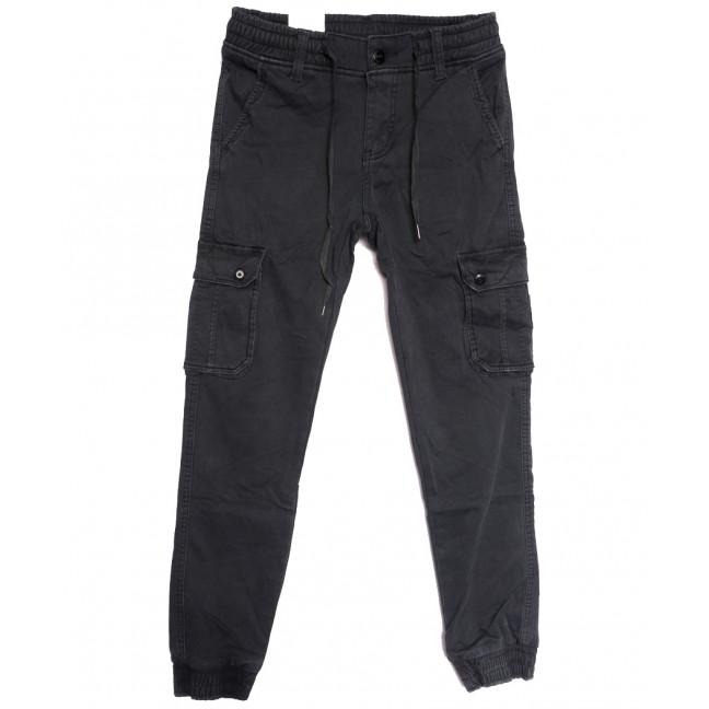 8379 Reman брюки карго мужские на флисе серые зимние стрейчевые (29-38, 8 ед.) Reman: артикул 1115060