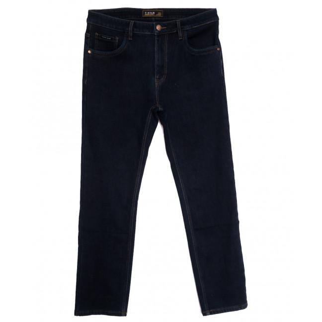02999 T-Star джинсы мужские батальные на флисе темно-синие зимние стрейчевые (34-44, 8 ед.) T-Star: артикул 1114687