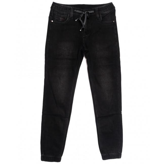 1591 Bagrbo джинсы мужские молодежные на резинке на флисе серые зимние стрейчевые (28-36, 8 ед.) Bagrbo: артикул 1115388