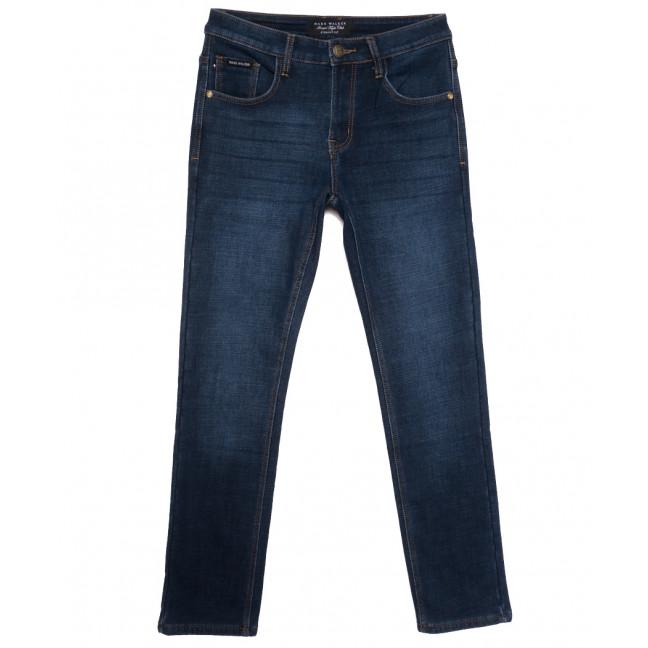 9903 Mаrk Walker джинсы мужские на флисе синие зимние стрейчевые (30-40, 8 ед.) Mark Walker: артикул 1115745
