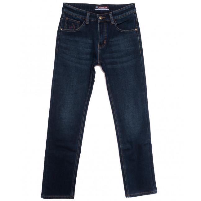 8216 Vouma-Up джинсы мужские на флисе синие зимние стрейчевые (29-38, 8 ед.) Vouma-Up: артикул 1115824