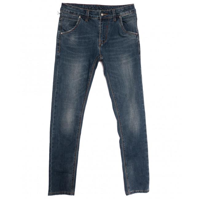 18108 Star King джинсы мужские молодежные синие осенние стрейчевые (28-34, 7 ед.) Star King: артикул 1115444