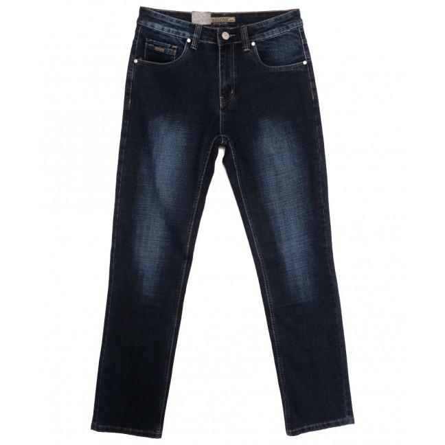 2109 Megoss джинсы мужские полубатальные синие осенние стрейчевые (32-38, 8 ед.) Megoss: артикул 1115829