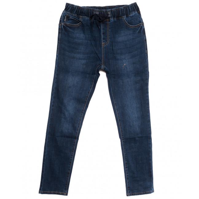 1648 Lady N джинсы женские батальные на резинке синие осенние стрейчевые (31-38, 6 ед.) Lady N: артикул 1115834