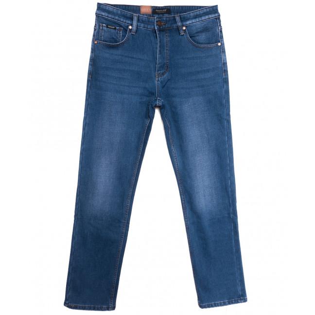 1076 Pаgalee джинсы мужские полубатальные на флисе синие зимние стрейчевые (32-38, 8 ед.) Pagalee: артикул 1115706