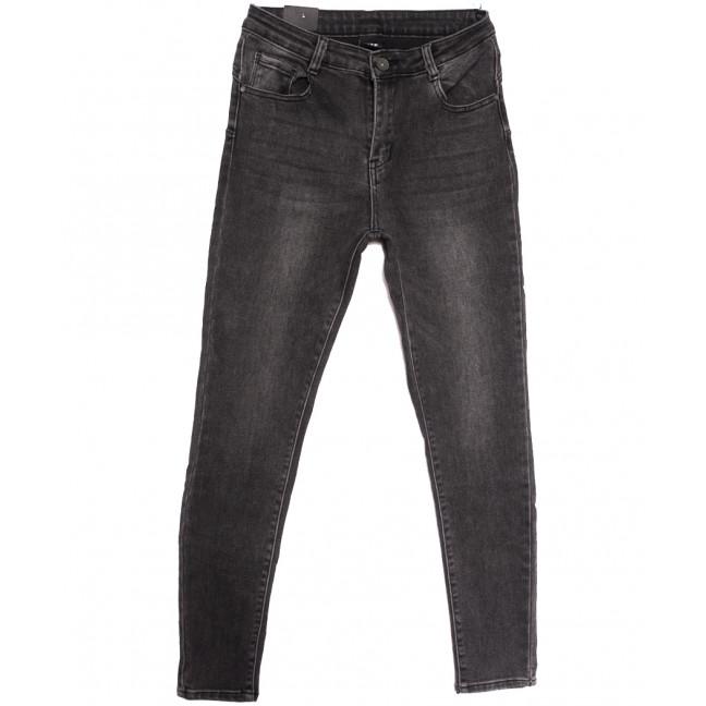 8011 Moon girl джинсы женские полубатальные серые осенние стрейчевые (28-34, 6 ед.) Moon Girl: артикул 1115901