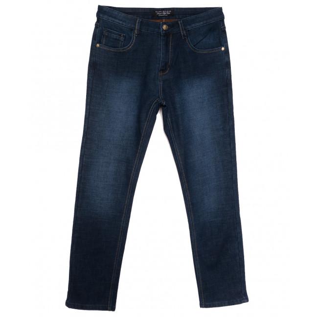 9029 Mаrk Walker джинсы мужские полубатальные на флисе синие зимние стрейчевые (32-38, 8 ед.) Mark Walker: артикул 1115737