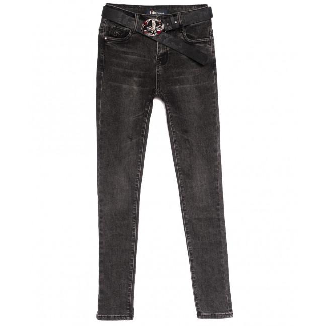 6235 Like джинсы женские серые осенние стрейчевые (25-30, 6 ед.) Like: артикул 1115267
