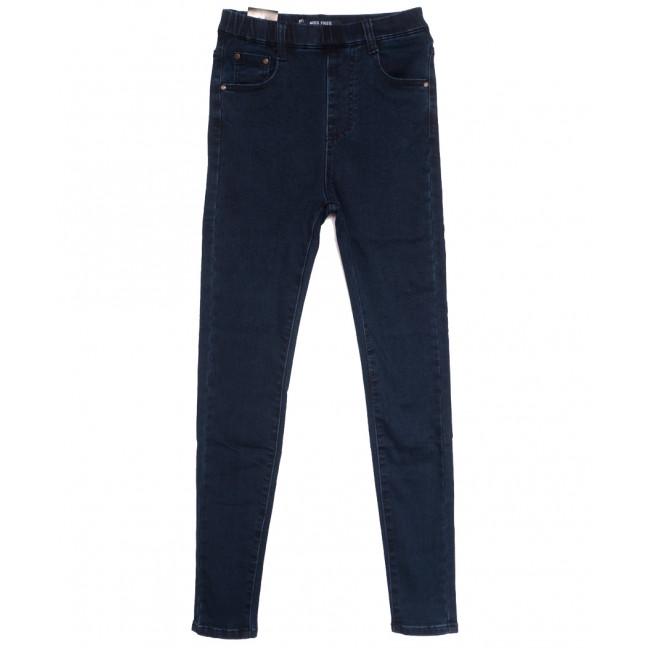 6011 Miss Free джинсы женские на байке темно-синие зимние стрейчевые (26-31, 6 ед.) Miss Free: артикул 1115236