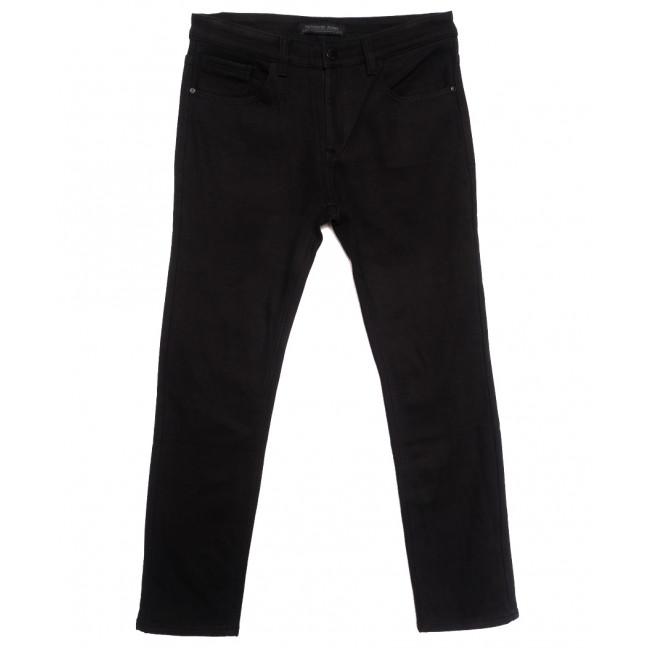 01377 Reigouse джинсы мужские полубатальные на флисе черные зимние стрейчевые (32-42, 8 ед.) REIGOUSE: артикул 1115733
