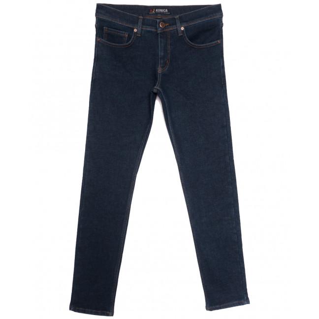 1722 Konica джинсы мужские на байке синие зимние стрейчевые (29-36, 7 ед.) Konica: артикул 1116147