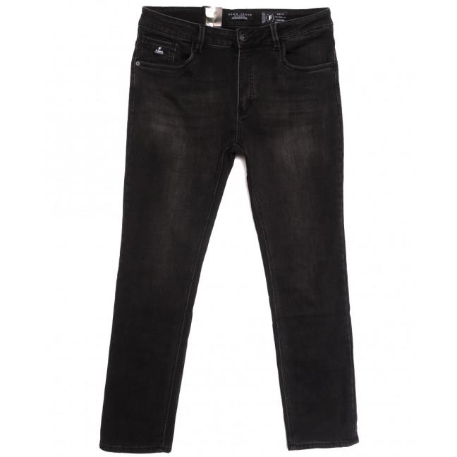 2302 Fang джинсы мужские полубатальные на байке серые зимние стрейчевые (32-40, 8 ед.) Fang: артикул 1115286