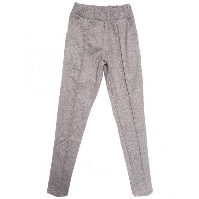 0014-42 серые Exclusive брюки женские зимние стрейчевые (42-48,норма, 4 ед.) Exclusive: артикул 1115979