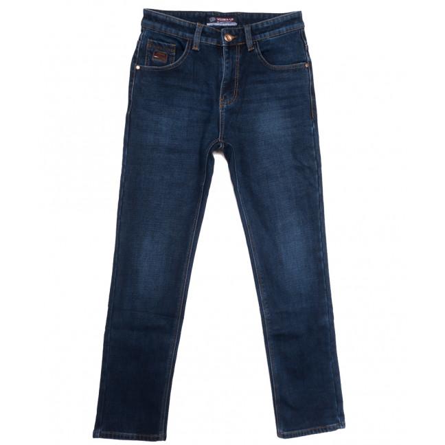 8218 Vouma-Up джинсы мужские полубатальные на флисе синие зимние стрейчевые (32-38, 8 ед.) Vouma-Up: артикул 1115825