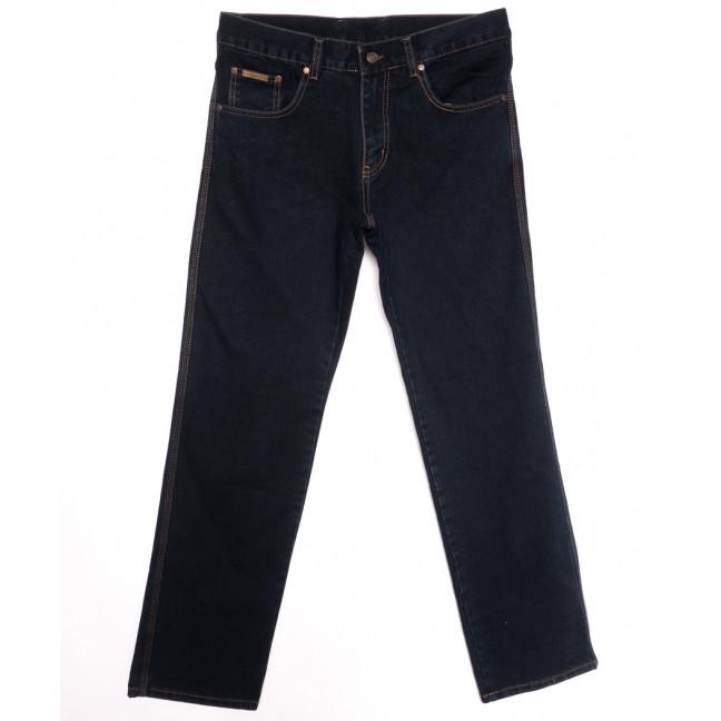 0901 Blu Blek Gabe джинсы мужские полубатальные темно-синие осенние стрейчевые (32-40, 6 ед.) Gabe: артикул 1116154