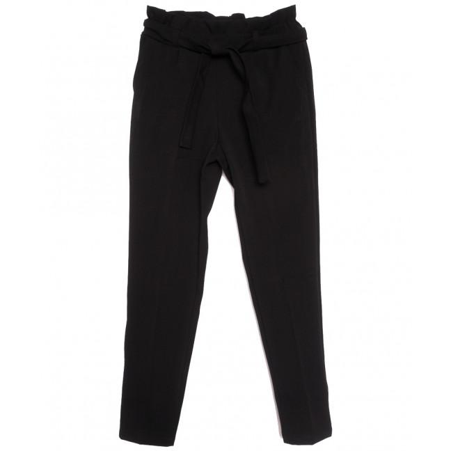 0012-44 Exclusive брюки женские на флисе черные зимние стрейчевые (42-48,норма, 4 ед.) Exclusive: артикул 1115956