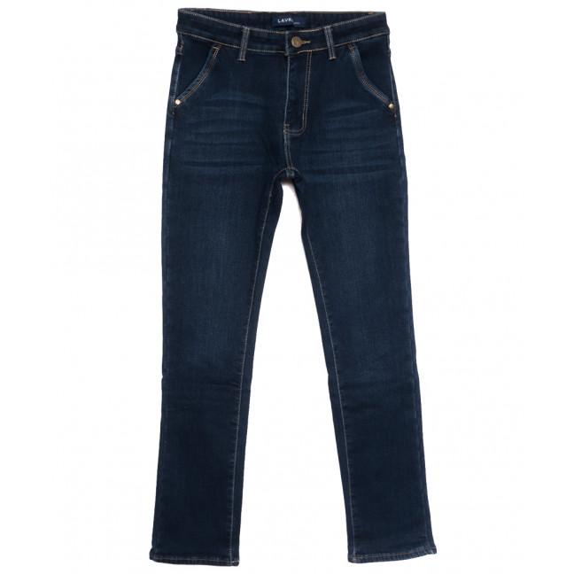 8003 Lavrs джинсы мужские молодежные на флисе синие зимние стрейчевые (28-36, 8 ед.) Lavrs: артикул 1115676