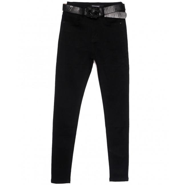 81526 Vanver джинсы женские черные осенние стрейчевые (25-30, 6 ед.) Vanver: артикул 1115602
