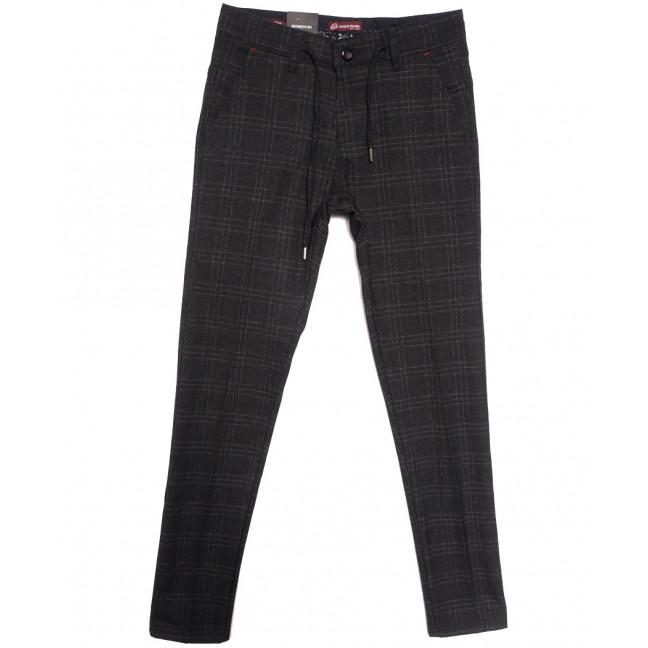 0351 черные Missouri брюки мужские осенние стрейчевые (29-34, 7 ед.) Missouri: артикул 1115939