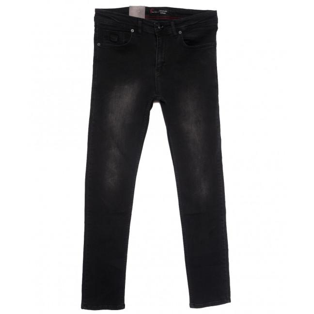 0103 (0103-F) Original Denim джинсы мужские полубатальные черные осенние стрейчевые (32-42, 8 ед.) Original denim: артикул 1115780