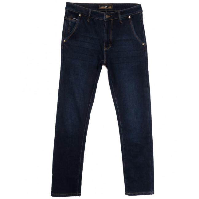 07999 T-Star джинсы мужские на флисе темно-синие зимние стрейчевые (30-40, 8 ед.) T-Star: артикул 1115732