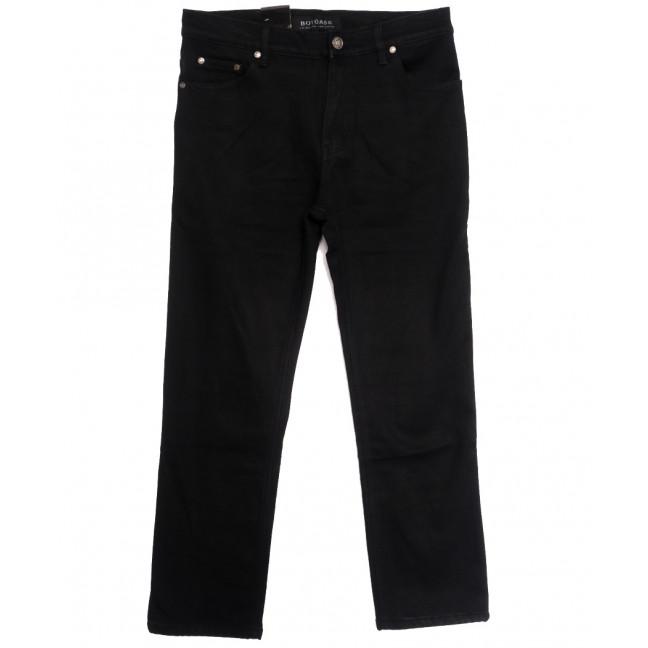 0201-1 Botoass джинсы мужские полубатальные на флисе черные зимние стрейчевые (32-42, 8 ед.) Botoass: артикул 1115393