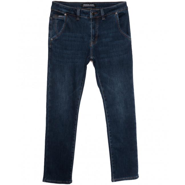 30777 Reigouse джинсы мужские на флисе синие зимние стрейчевые (30-38, 8 ед.) REIGOUSE: артикул 1115723