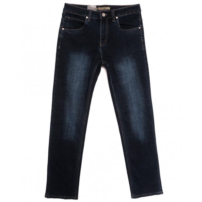 2113 Megoss джинсы мужские полубатальные синие осенние стрейчевые (32-42, 8 ед.) Megoss: артикул 1115546