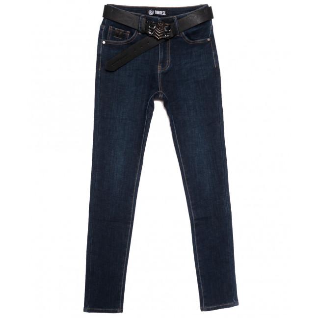 9229 Dmdesl джинсы женские полубатальные на флисе синие зимние стрейчевые (28-33, 6 ед.) DMDESL: артикул 1115812