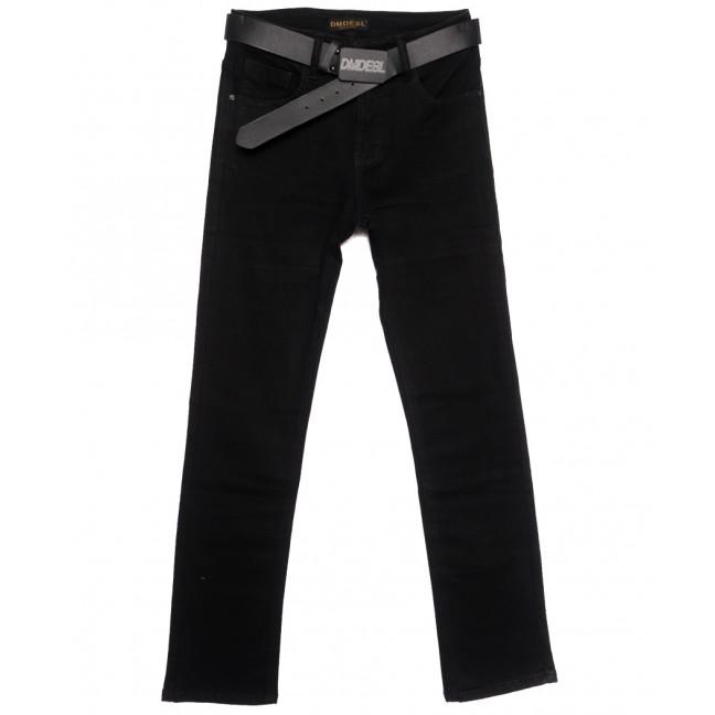 9354 Dimarkis Day джинсы женские полубатальные на флисе черные зимние стрейчевые (28-33, 6 ед.) Dimarkis Day: артикул 1115816