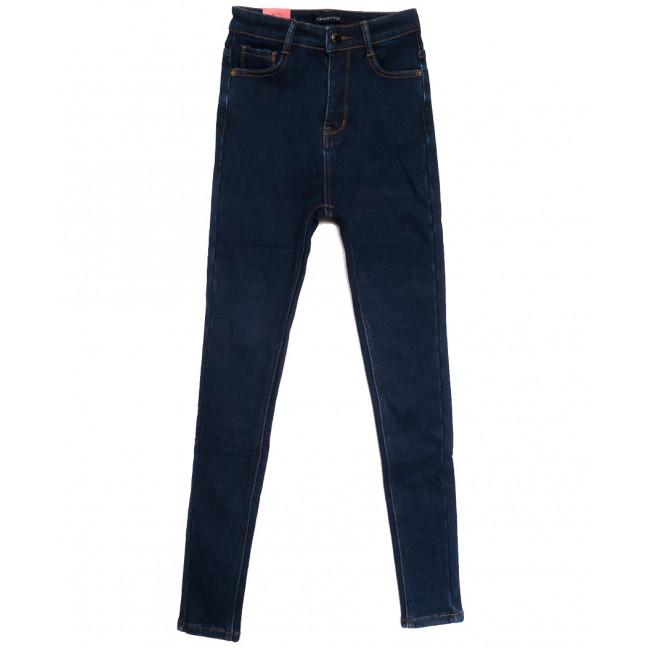 3599 Crosstyle джинсы женские на флисе синие зимние стрейчевые (25-30, 6 ед.) Crosstyle: артикул 1115576