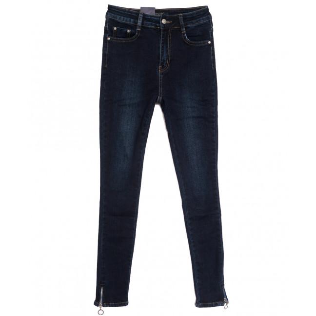 5452 Gallop джинсы женские на байке темно-синие зимние стрейчевые (25-30, 6 ед.) Gallop: артикул 1115212