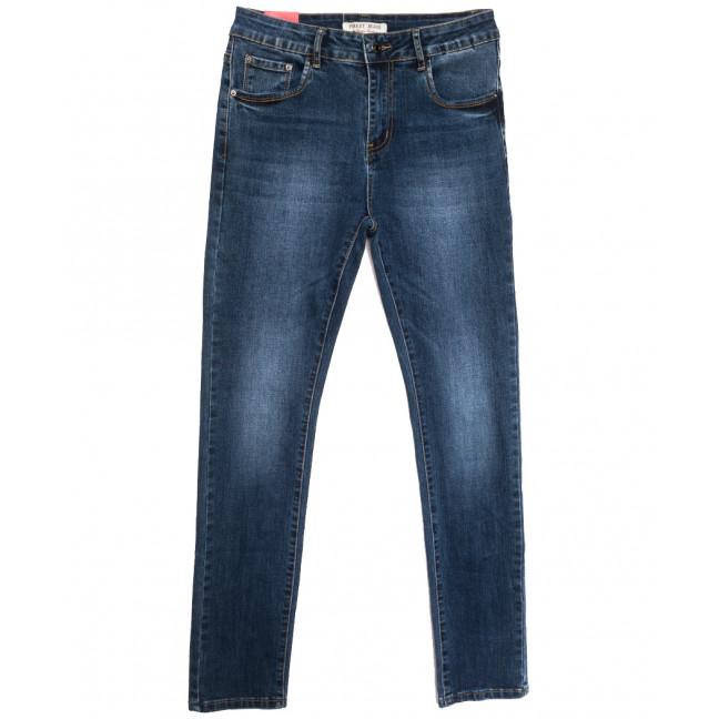 5227 Forest Jeans джинсы женские полубатальные синие осенние стрейчевые (28-33, 6 ед.) Forest Jeans: артикул 1115539