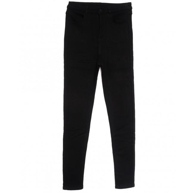 0607 Crosstyle джинсы женские батальные на флисе черные зимние стрейчевые (30-36, 6 ед.) Crosstyle: артикул 1115571